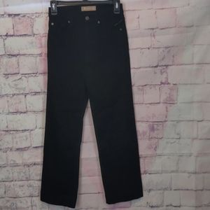 7 for all mankind black luxe vintage jeans size 25